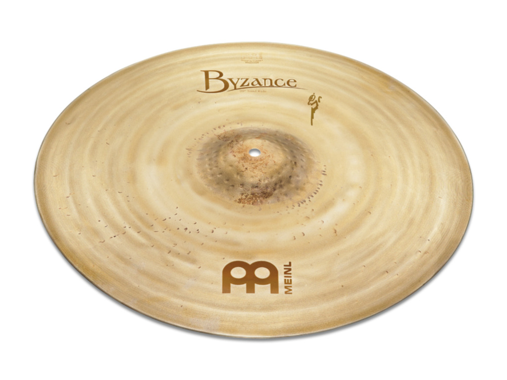 Ride Cymbal Meinl B20SAR, Byzance Serie, Vintage Sand, Signature Benny Grebb, 20""