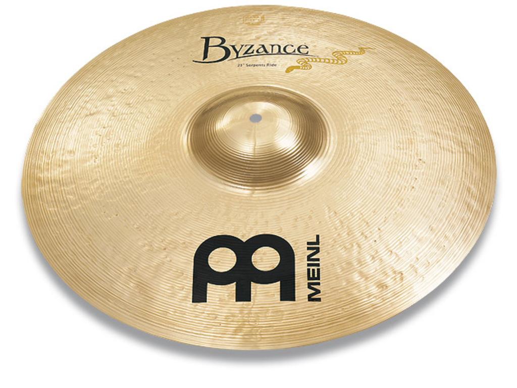 Ride Cymbal Meinl B21SR-B, Byzance Serie, Brilliant Serpents Ride, Signature Derek Roddy, 21""