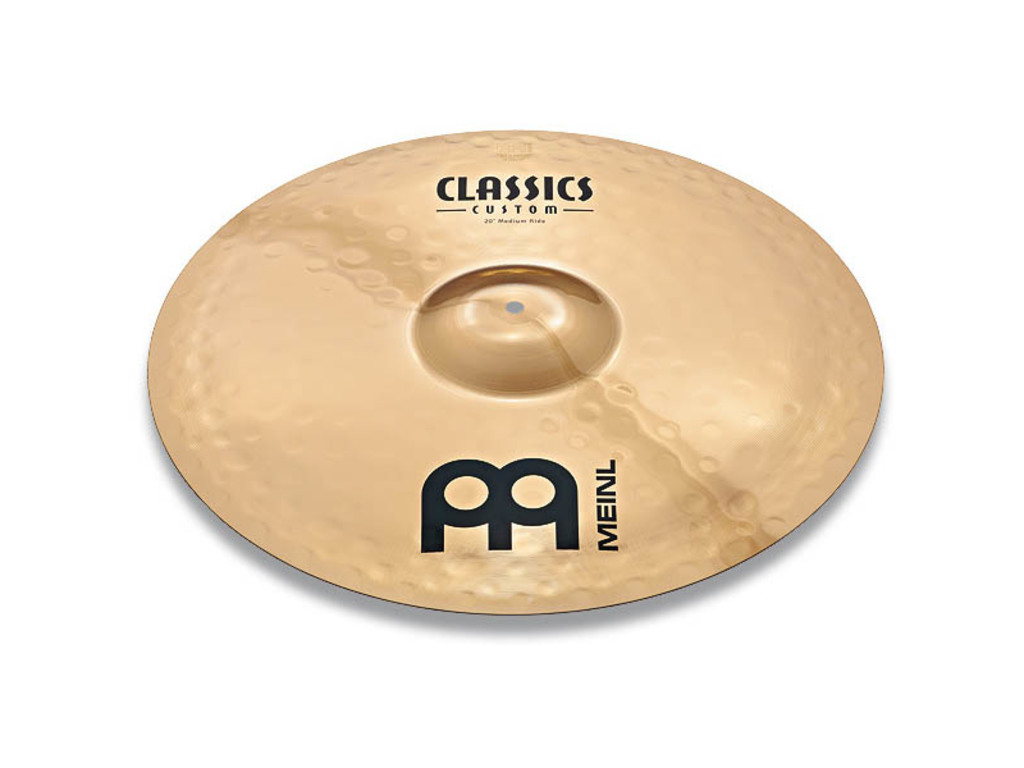 Ride Cymbal Meinl CC20PR-B, Classics Serie, Custom, Powerful, 20""