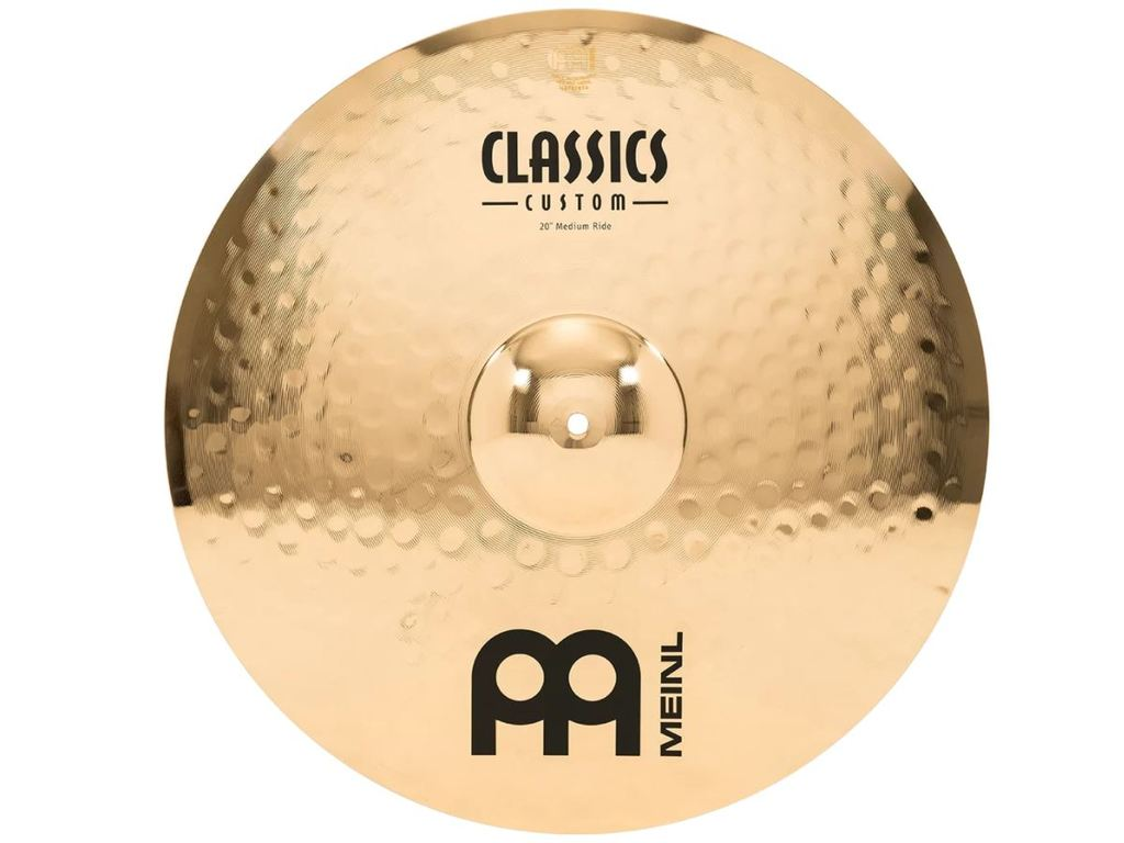 Ride Cymbal Meinl CC20MR-B, Classics Serie, Custom, Medium 20""