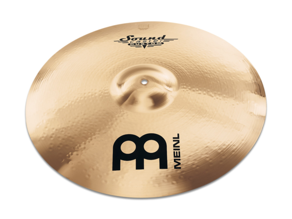 Ride Cymbal Meinl SC21PR-B, Soundcaster, Custom, Powerful, 21""