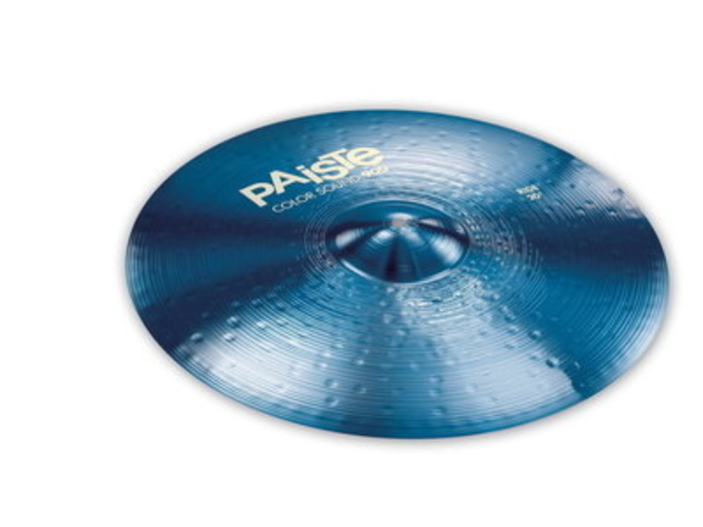 Ride Cymbal Paiste 900 serie, Color Sound Blue, 20""