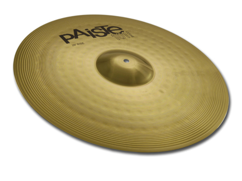 Ride Cymbal Paiste CY0000141620, 101 Brass Serie, 20""