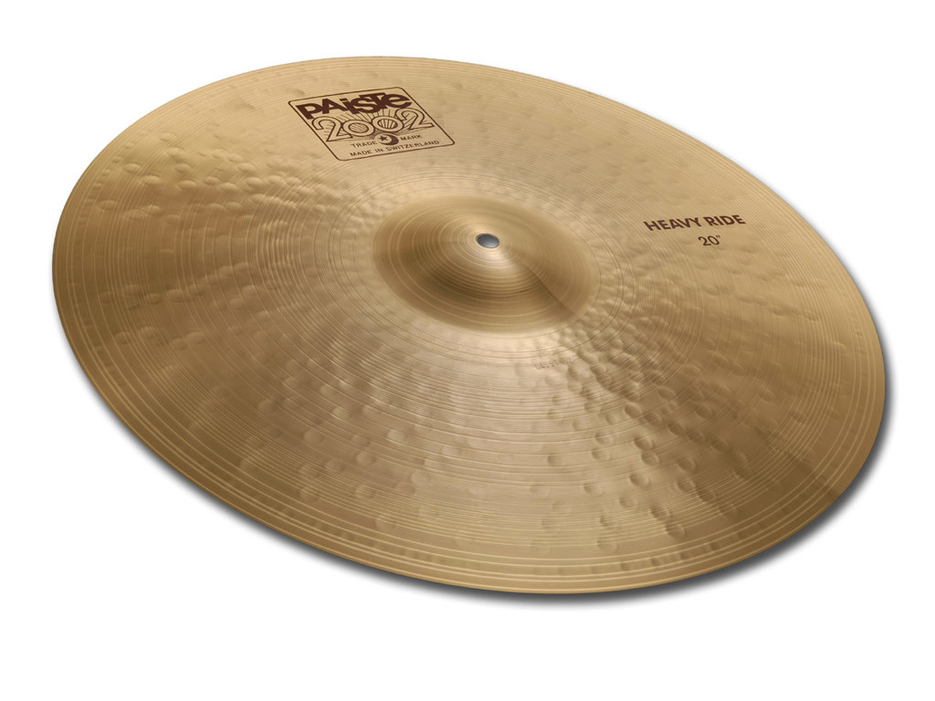 "Cymbal Ride Paiste 2002 20"" heavy ride"