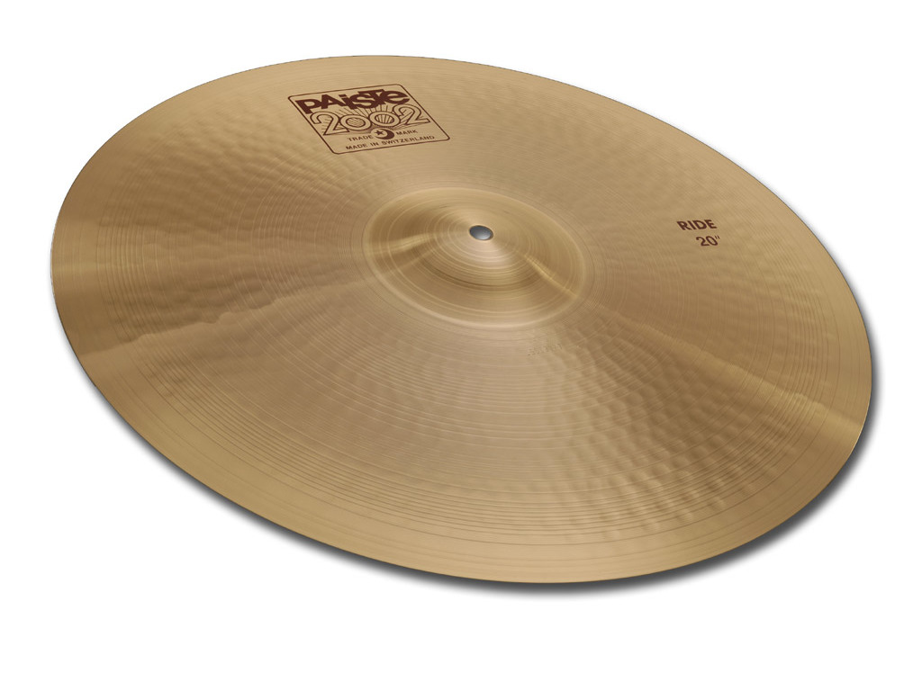 Ride Cymbal Paiste CY0001061622, 2002 Serie, 22""