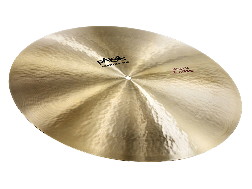 "Cymbal Ride Paiste Formula 602, 20"" Medium Flatride"