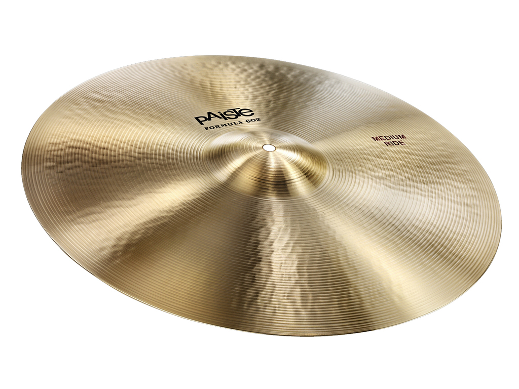 Ride Cymbal Paiste CY0001041720, Formula 602 Classic Sounds Serie, Medium, 20""