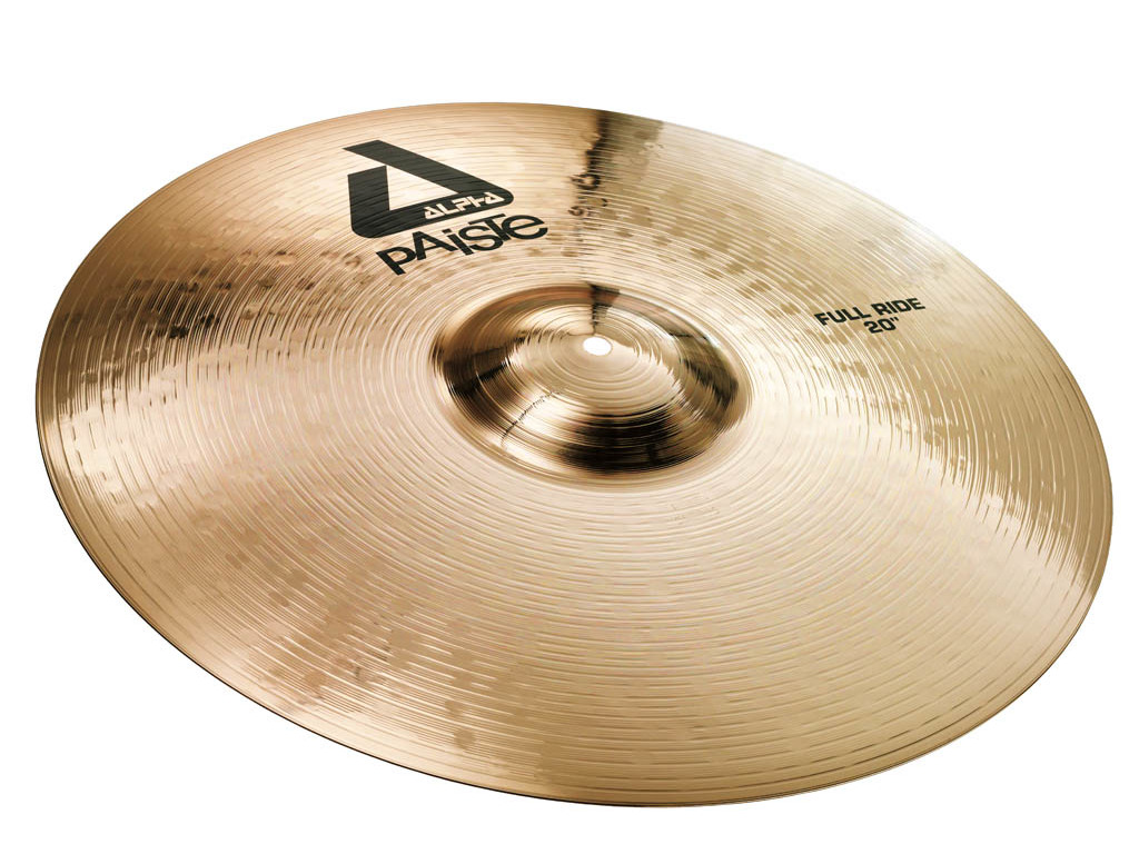 Ride Cymbal Paiste CY0000881620, Alpha Serie, Full Ride, 20""