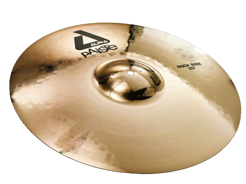 Ride Cymbal Paiste CY0000882720, Alpha Serie, Rock Ride, 20""