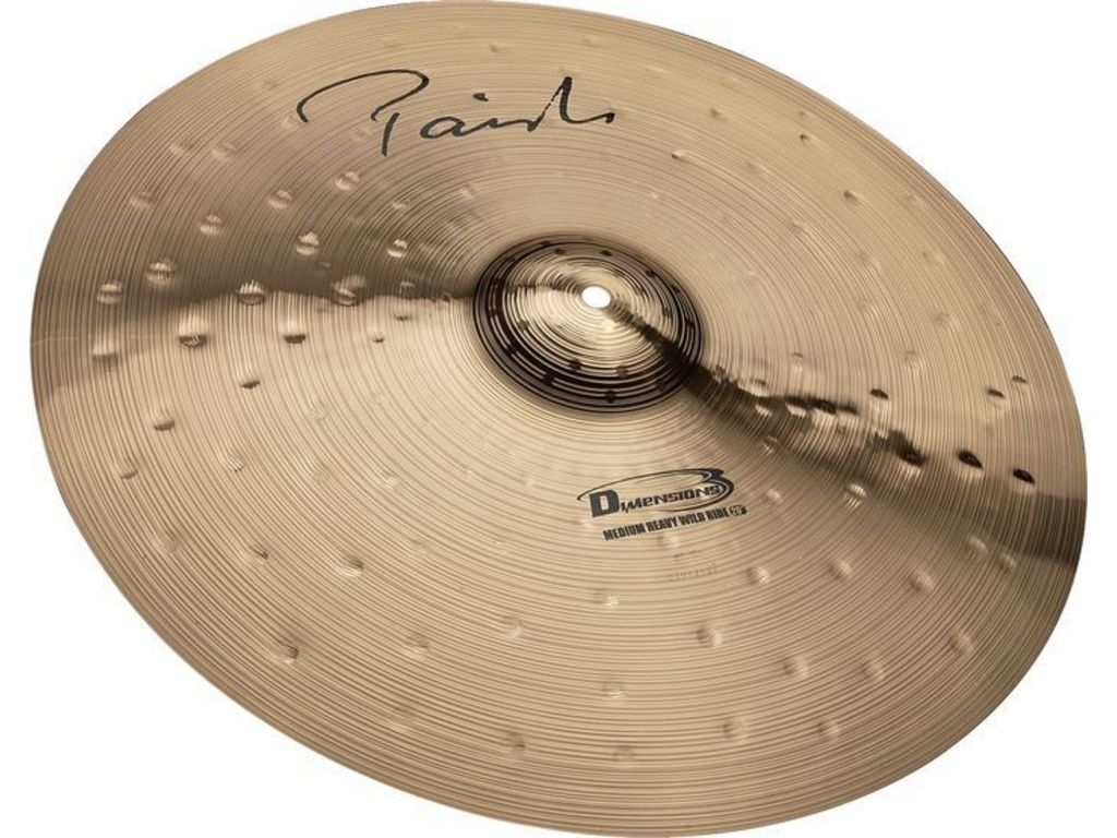 "Ride Cymbal Paiste Dimensions 20"" medium heavy wild ride"