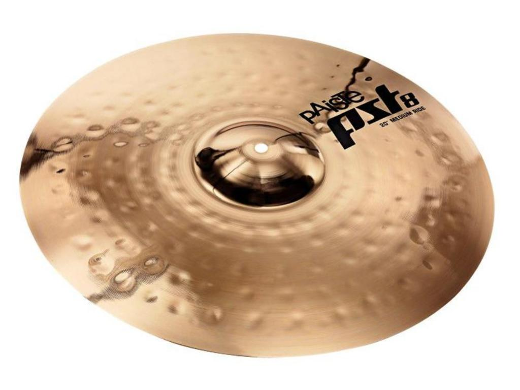 Ride Cymbal Paiste CY0001801620, PST8 Serie, Reflector Medium, 20""