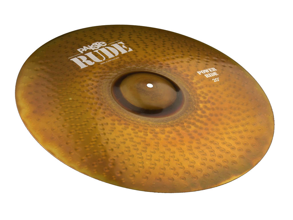 Ride Cymbal Paiste CY0001122920, RUDE Serie, Power, 20""