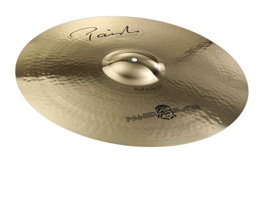 Ride Cymbal Paiste CY0004055622, Signature Serie, Reflector Bell, 22""
