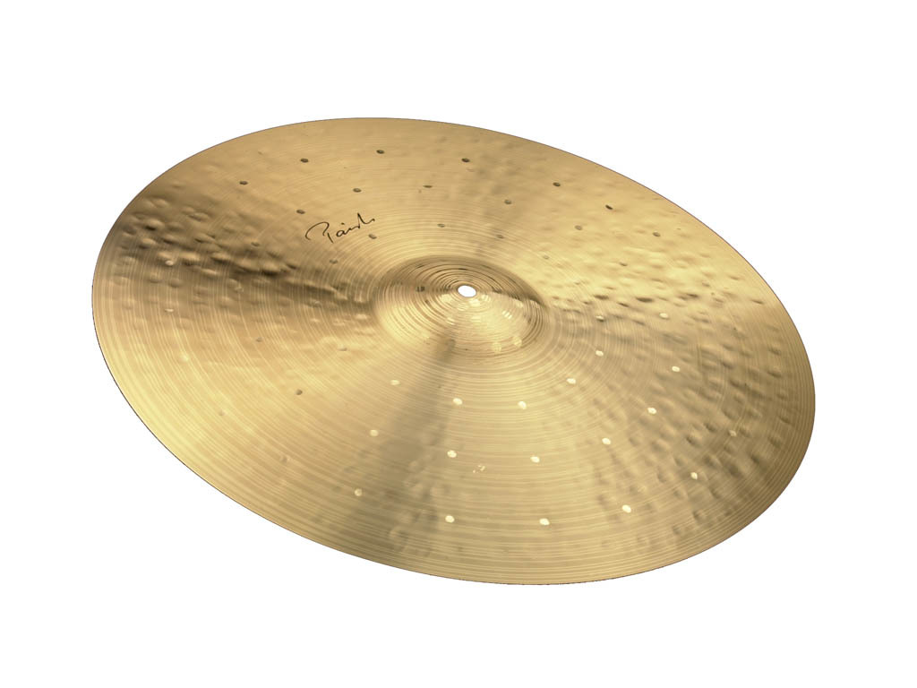 "Cymbal Ride Paiste Traditional 20"" light ride"
