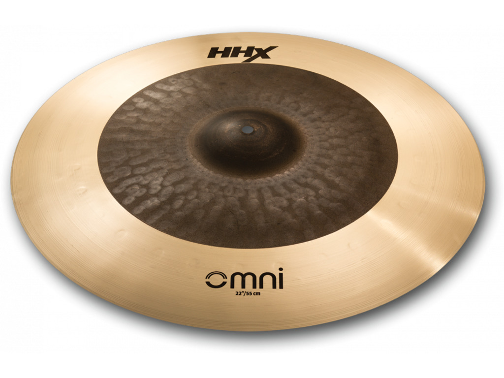 Ride Cymbal Sabian 122OMX HHX Serie, Designed with Jojo Mayer, OMNI, 22""