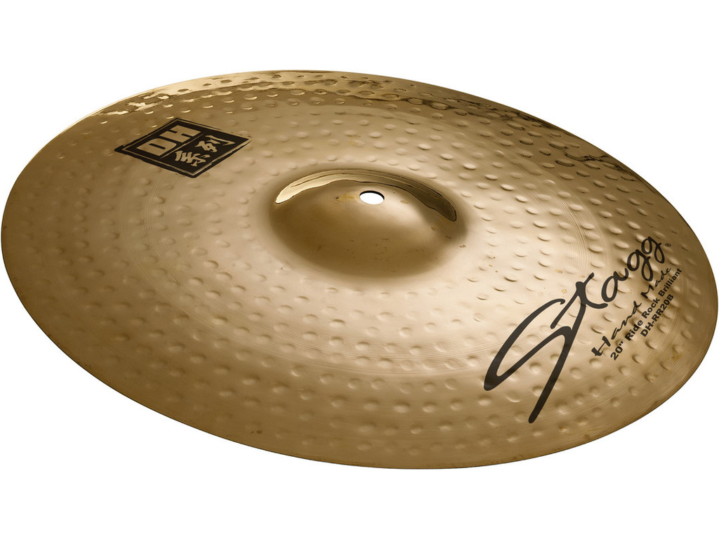 Ride Cymbal Stagg DH-RR20B, DH Serie, Brilliant Rock, 20""