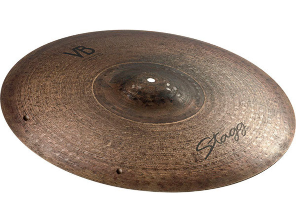 Ride Cymbal Stagg VB-RM21 ZZ, Vintage Bronze Serie, Medium Ride, met Sizzle, 21""