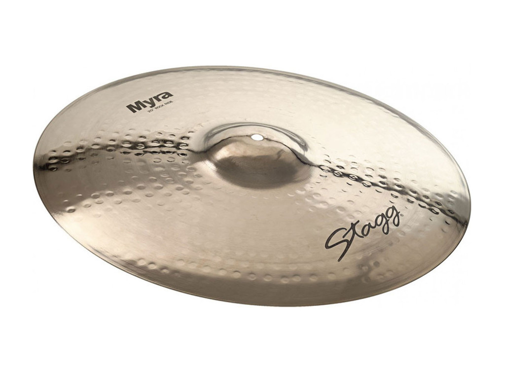 Ride Cymbal Stagg MY-RR20B, Myra Serie, Brilliant Rock, 20""