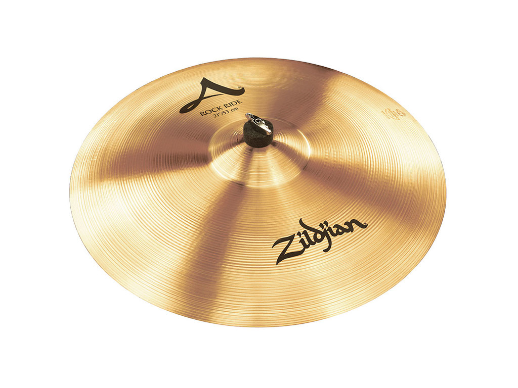 Ride Cymbal Zildjian A0081, A Zildjian, Rock Ride, 21""