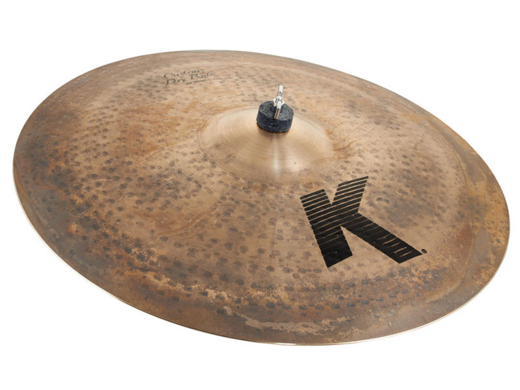 Ride Cymbal Zildjian K0886, K Custom, Dry Ride, 20""