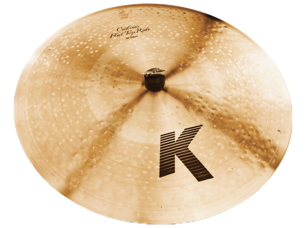 Ride Cymbal Zildjian K0882, K Custom, Flat Top Ride, 20""