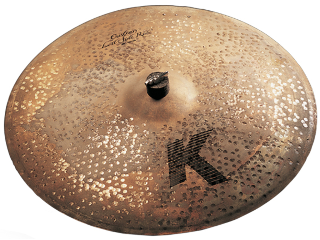 Ride Cymbal Zildjian K0986, K Custom, Left Side Ride, Peter Erskine, met Sizzle, 20""