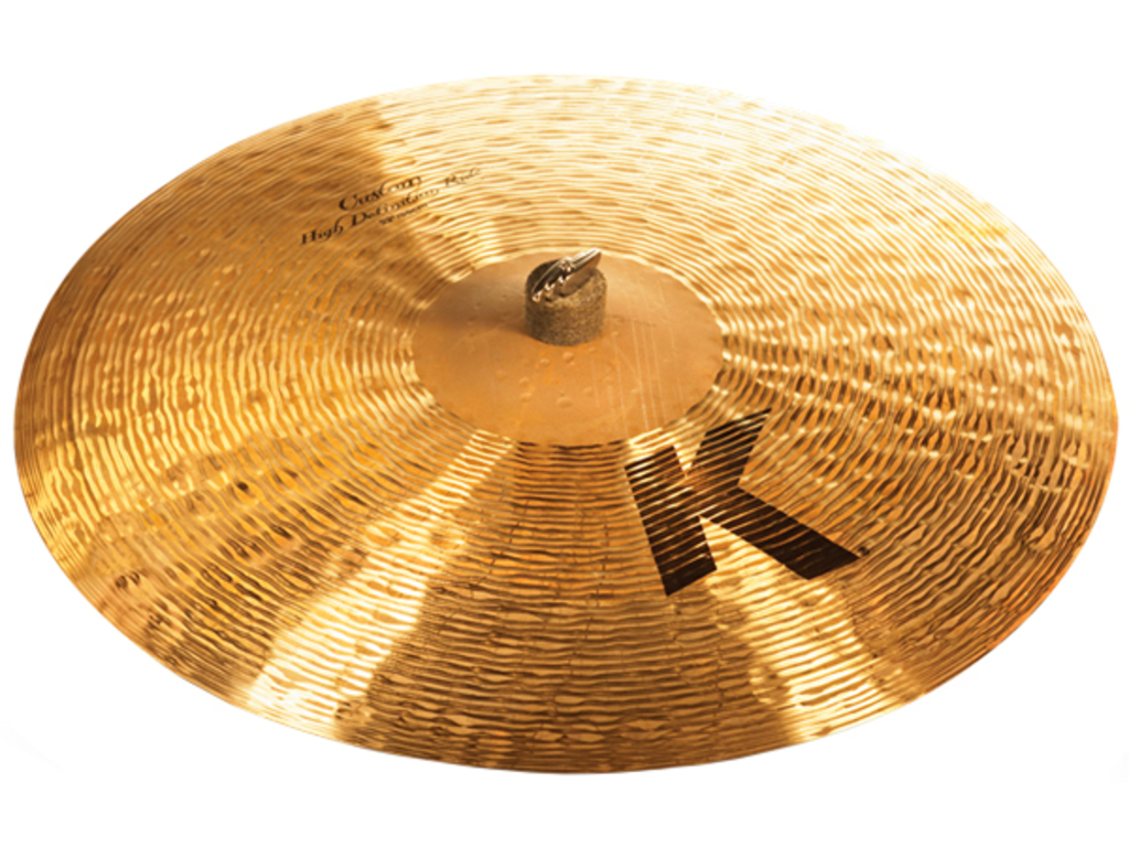 Ride Cymbal Zildjian K0989, K Custom, High Definition Ride, 22""