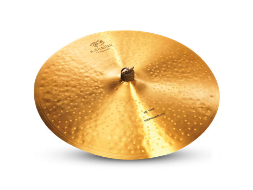 Ride Cymbal Zildjian K1101, K Constantinople, Thin Ride Overhammered, 22""