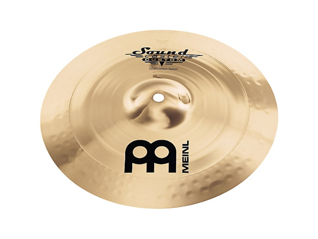 Splash Cymbal Meinl SC12DS-B, Soundcaster Serie, Custom Distortion, 12""