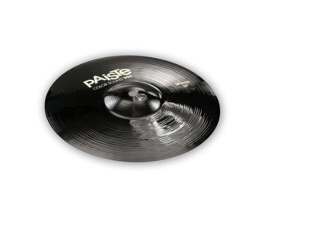 Splash Cymbal Paiste 900 Serie, Color Sound Black, 10""