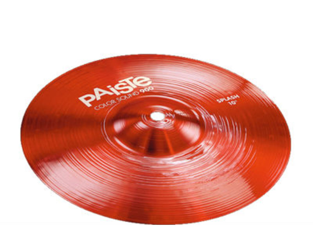 Splash Cymbal Paiste 900 Serie, Color Sound Red, 12""