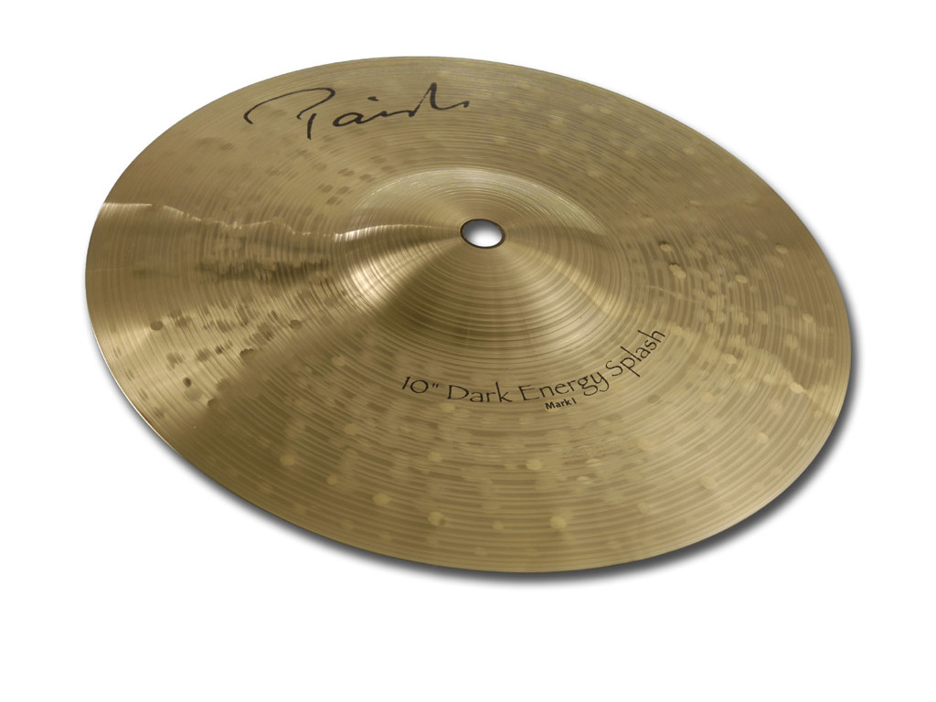Splash Cymbal Paiste CY0004802210, Signature Dark Energy , Mark I, Thin, 10""