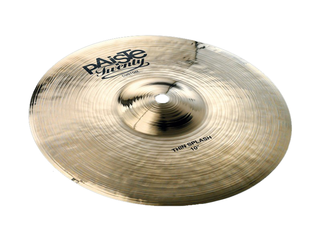 "Splash Cymbal Paiste twenty custom collection 10"" thin splash"