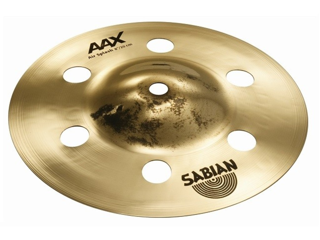 Splash Cymbal Sabian 20805XA, AAX Serie, Air Splash, 8""
