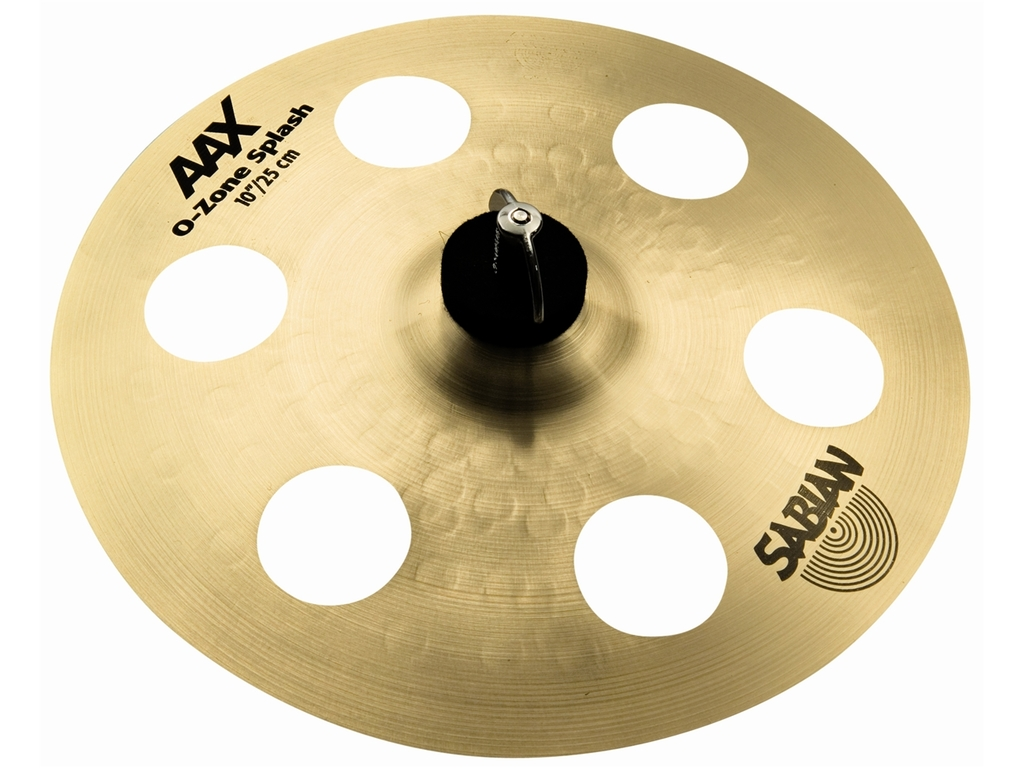 Splash Cymbal Sabian 21000XN, AAX Serie, O-zone Splash, 10""