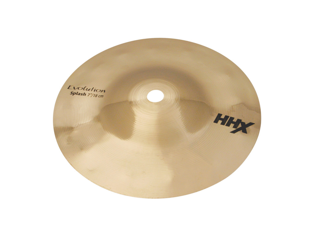 Splash Cymbal Sabian 10705XEB, HHX Serie, Evolution, 7""