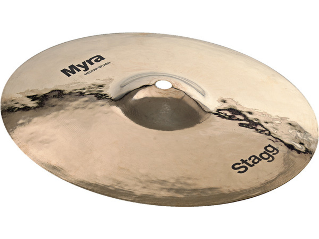 Splash Cymbal Stagg MY-SM12B, Myra Serie, Brilliant Medium, 12""