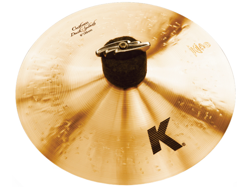 Splash Cymbal Zildjian K0930, K Custom, Dark Splash, 8""