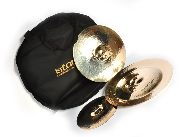 "Cymbal Set Compleet Istanbul Mehmet SA-SET2, Samatya set 10"" Splash -14"" Crash 16"" China"