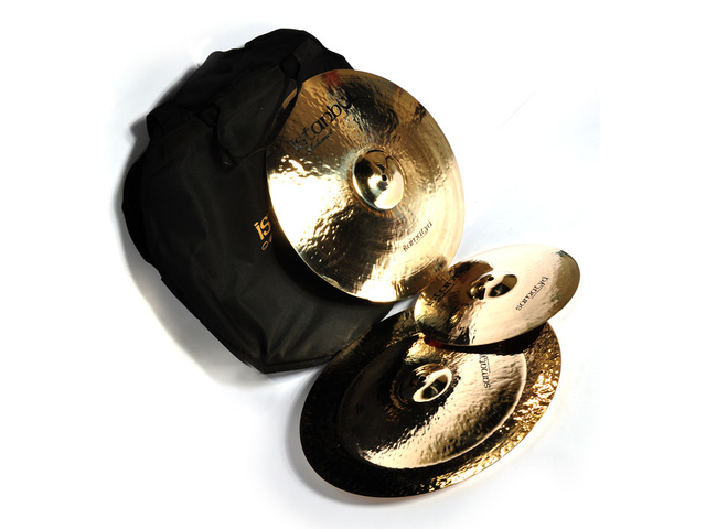 "Cymbal Set Compleet Istanbul Mehmet SA-SET3, Samatya set 12"" Splash - 18"" Crash - 18"" China"