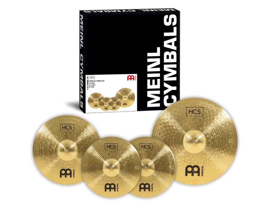"Cymbal Set Compleet Meinl HCS141620, HCS Serie, 14"" Hi-hat - 16"" Crash - 20"" Ride"