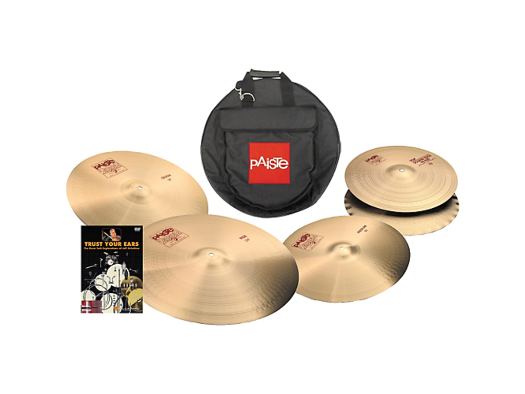 "Cymbal Set Compleet Paiste 2002 classic pack, 14"" hi-hat, 18"" Crash, 20"" ride + gratis 16"" crash"