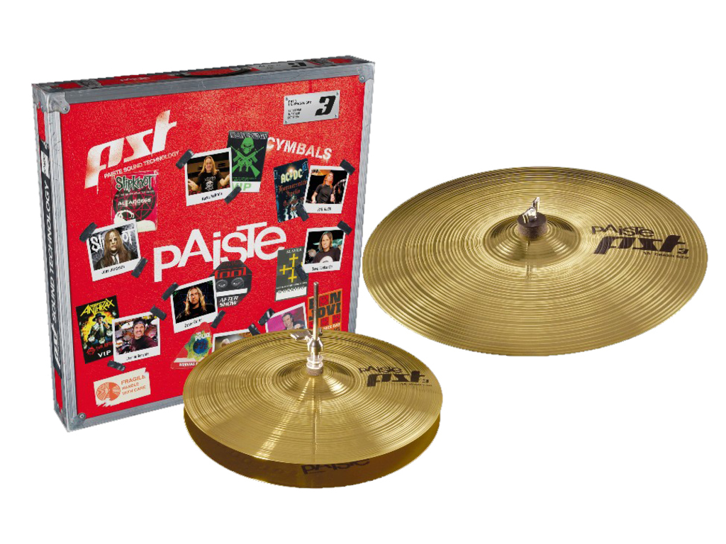 "Cymbal Set Compleet Paiste PST3, Effects Pack, 10"" Splash - 18"" China"