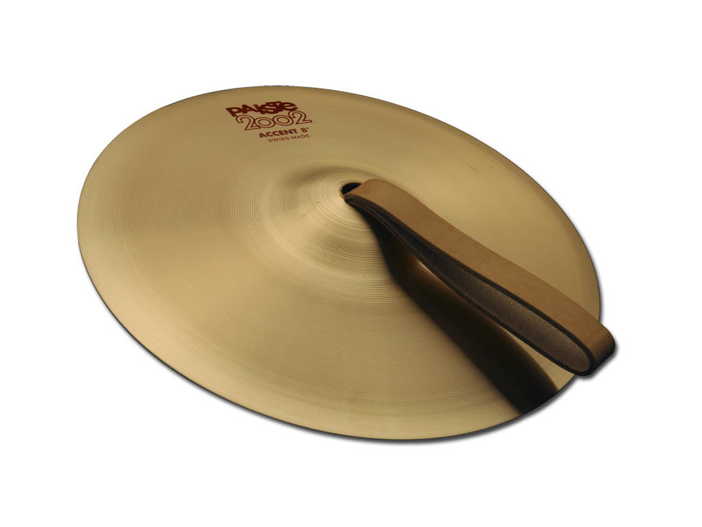Effect Cymbal Paiste CY0001069308 R, 2002 Serie, Accent Cymbal, Per Paar, met riem, 8""