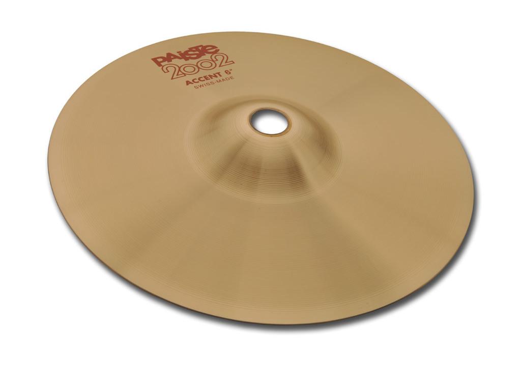 Effect Cymbal Paiste CY0001069308 S, 2002 Serie, Accent Cymbal, Per stuk, 8""