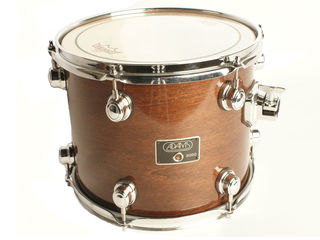 "Concert tom tom Adams, Symphonic 14"" x 12"", 8 lugs, brown, with ondervel"