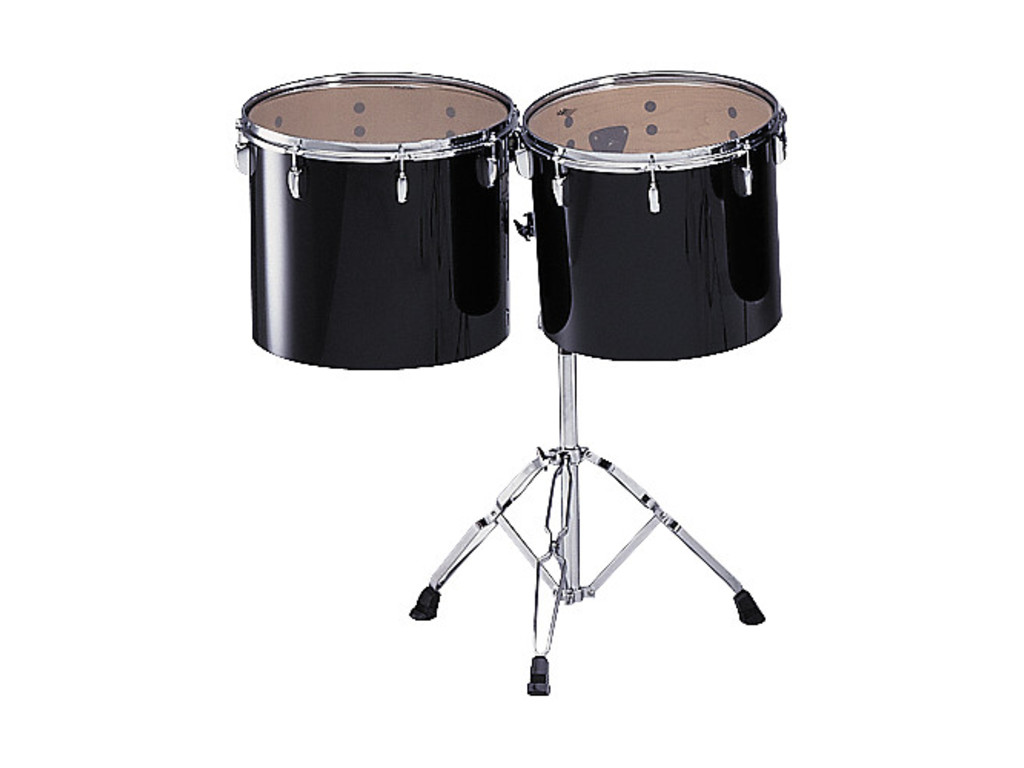 "Concert tom tom Pearl PTE1516, 15x14"" en 16x14"", single head incl. T800W twin tom stand"
