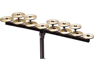 Crotales Zildjian high octave set, 13 notes C2-C3 zonder stand