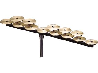 Crotales Zildjian low octave set, 13 notes C1-C2 zonder stand