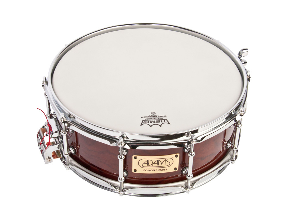"Snaredrum Adams Concert Series ACS1450BHL, 14""x5"", Bubinga Heavy Shell, long snares"